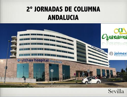 2ª JORNADA COLUMNA ENDOSCÓPICA Endoscopia Columna - Cirugía Minimamente Invasiva