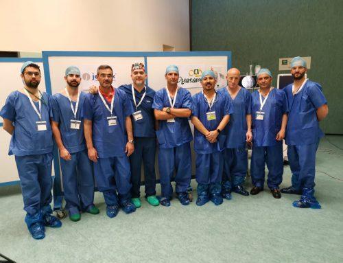 CURSO DE FORMACION EN ENDOSCOPIA COLUMNA JOIMAX OYASAMA Cirugía columna minimamente invasiva
